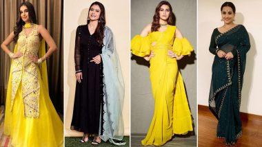 Makar Sankrant 2020: Steal Some Festive Styles From the Closets of Deepika Padukone, Kriti Sanon, Kajol Devgan, Tara Sutaria and Kangana Ranaut – View Pics