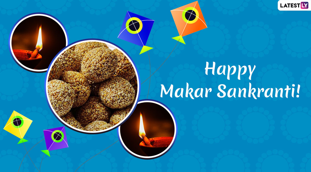 Makar Sankranti 2020 Greetings in Hindi For Uttarayan Festival: WhatsApp Stickers, GIF Image Messages and SMS to Wish Family & Friends