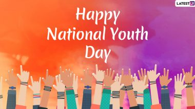 National Youth Day 2020 Messages and Images: WhatsApp Stickers, Yuva Diwas Posters, GIFs, SMS and Facebook Greetings to Wish on Swami Vivekananda Jayanti