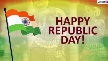 Happy Republic Day 2020 Greetings: WhatsApp Stickers, Images, Patriotic Quotes and Hike GIF Messages to Send R-Day Wishes on 26 January