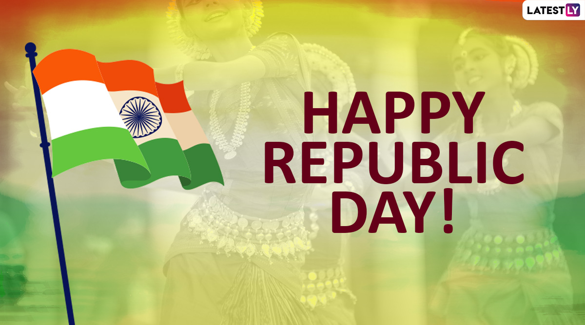 India Republic Day 2020 Greetings & Images: WhatsApp Stickers, Wishes, Patriotic Quotes and Hike GIF Messages to Celebrate 71st R-Day on January 26
