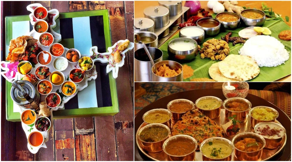 Thalis of India: Viral Twitter Thread Gives Details of Food Items in Local Cuisines Made From All States of The Country