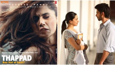 Thappad Trailer: Taapsee Pannu's Film Is The Perfect Answer to How Preeti Should Have Reacted to Kabir Singh's 'Just One Slap'