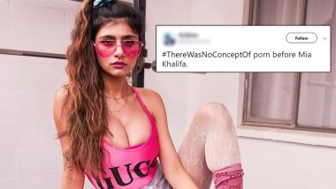 No Concept of Porn Before Mia Khalifa? #ThereWasNoConceptOf Twitter Trend Has Some Funny Memes and Jokes That Will Leave You ROFLing