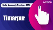 Timarpur Vidhan Sabha Seat in Delhi Assembly Elections 2020: Candidates, MLA, Schedule And Result