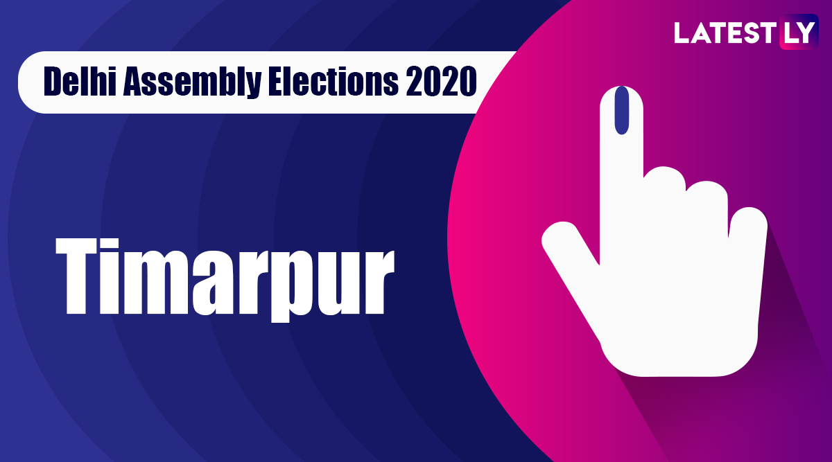 Timarpur Election Result 2020: AAP Candidate Dilip Pandey Declared Winner From Vidhan Sabha Seat in Delhi Assembly Polls