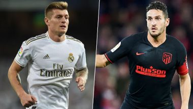 Real Madrid vs Atletico Madrid, Supercopa de Espana 2019-20, Final: Toni Kroos, Koke and Other Key Players to Watch out in Saudi Arabia