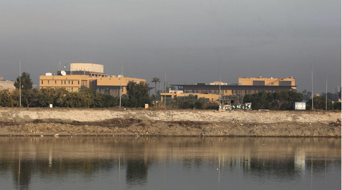 Iraq: Five Rockets Hit Near US Embassy in Baghdad's Green Zone