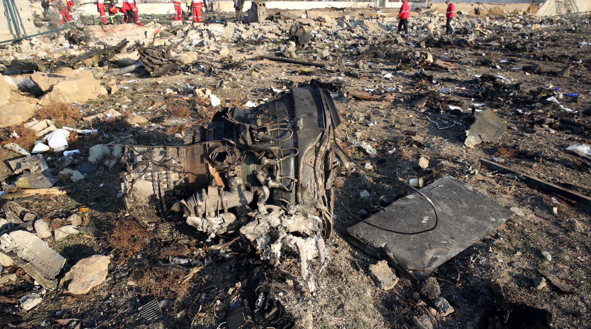 Iran Plane Crash: Ukraine President Volodymyr Zelensky Demands Punishment, Compensation for Airliner Downed by Tehran