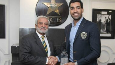 Umar Gul Honoured by PCB for 2009 World T20 Heroics