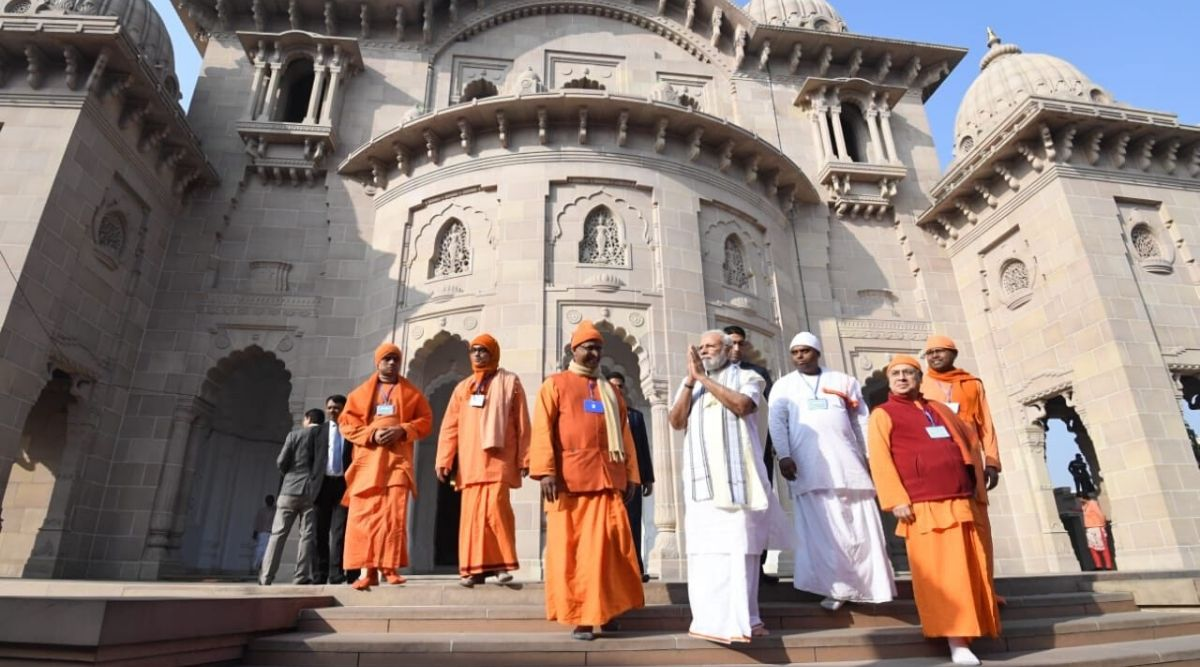 PM Modi's Anti-Opposition Tirade Over CAA at Belur Math Upsets Ramakrishna Mission Members