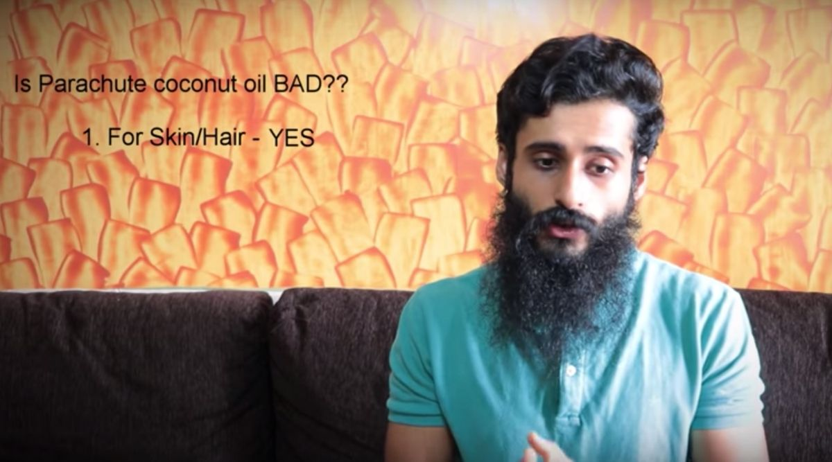 Bombay High Court Tells YouTuber 'Bearded Chokra' to Remove Online Review of Parachute Coconut Oil