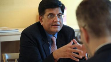 Piyush Goyal Says 'Cooperation, Competition Among States Will Collectively Drive Nation Faster Towards USD 5 Trillion Economy by 2025'