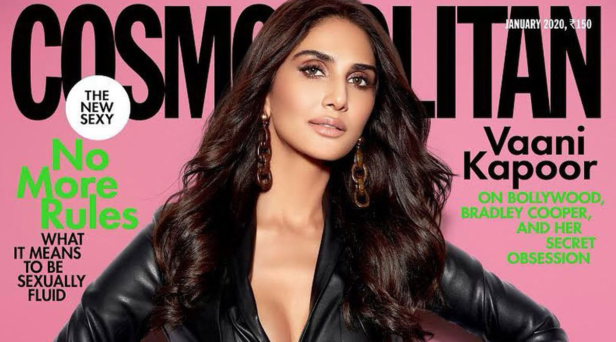 Vaani Kapoor Graces the Cosmopolitan 2020 Magazine Cover in a Sexy Black Faux Leather Jacket! (View Hot Pic)