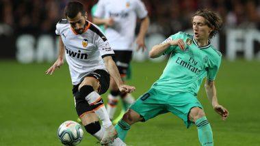 Valencia vs Real Madrid Head-to-Head Record: Ahead of Supercopa de Espana 2019–20 Clash, Here Are Match Results of Last 5 Encounters