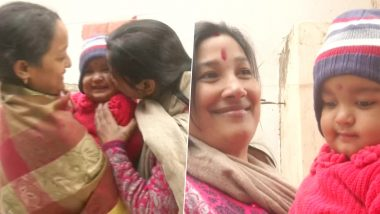 Varanasi Toddler, Whose Parents Were Jailed for Anti-CAA Protests, Reunites With Her Mother; See Heartwarming Pics