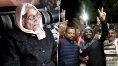 Rajasthan Panchayat Elections Results 2020: 97-Year-Old Vidya Devi Elected As Sarpanch of Puranabas