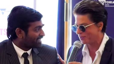 Throwback Thursday! When Shah Rukh Khan Was All Praises For 'Makkal Selvan' Vijay Sethupathi (Watch Video)
