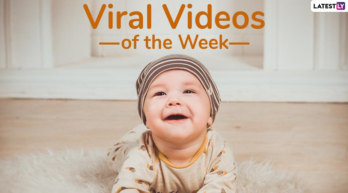 Viral Videos of the Week: From Elon Musk's 'NSFW' Dance to Unattended Toddler Walking on Tiny Apartment Ledge, Watch 7 Most-Viewed Clips This Week