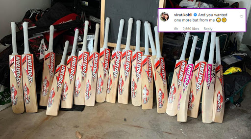 Virat Kohli Comments on David Warner's Instagram Post, Says 'And You Wanted One More Bat From Me'