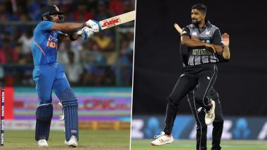 Virat Kohli vs Ish Sodhi, Martin Guptill vs Jasprit Bumrah and Other Exciting Mini Battles to Watch Out for During India vs New Zealand 1st T20I 2020 in Auckland