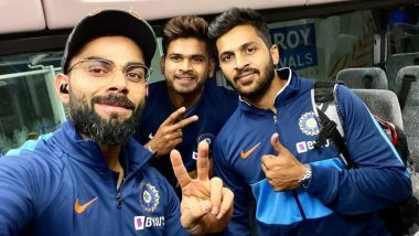 Virat Kohli Shares Mandatory Arrival Picture on Reaching Auckland With Team India Ahead of New Zealand T20I Series (See Pic)