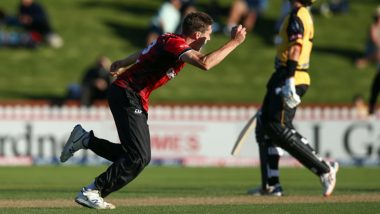 Will Williams Takes Hat-Trick During Wellington Firebirds v Canterbury Kings Dream11 Super Smash 2019-20 Match, Watch Video