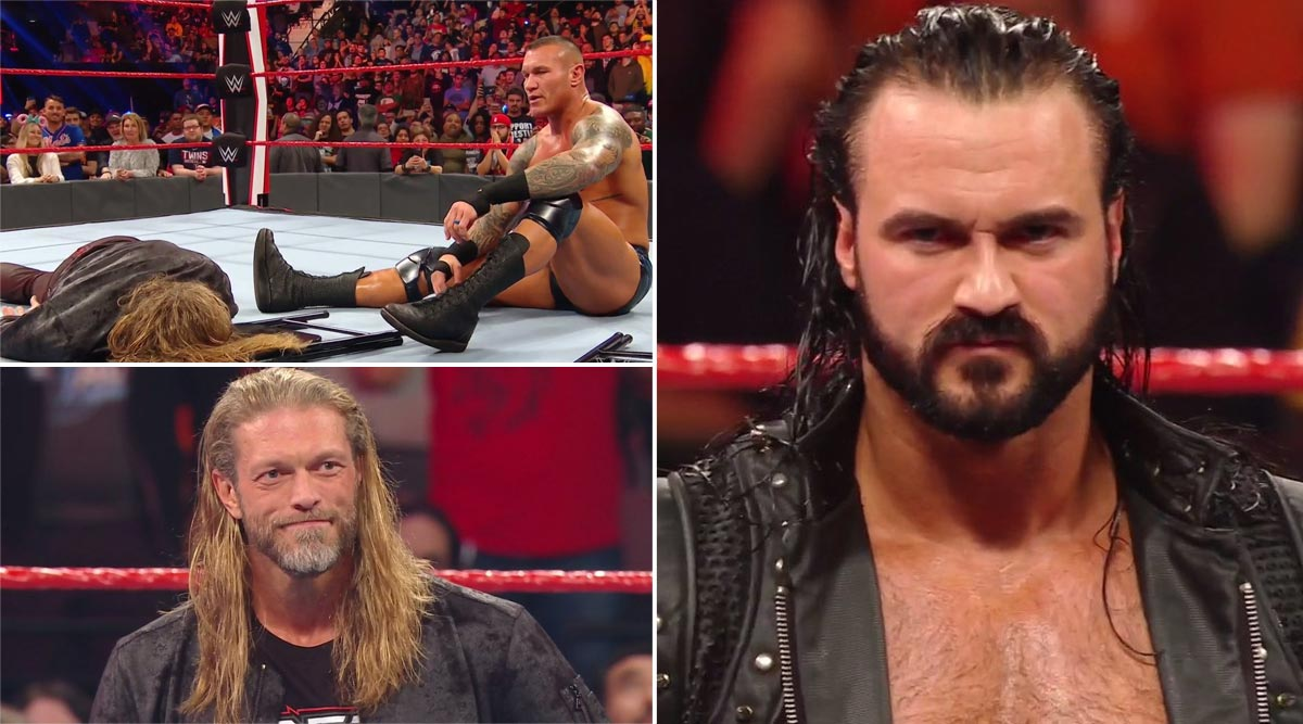 WWE Raw January 27, 2020 Results and Highlights: Drew McIntyre Challenges Brock Lesnar For WrestleMania 36; Randy Orton Assaults Edge (View Pics)
