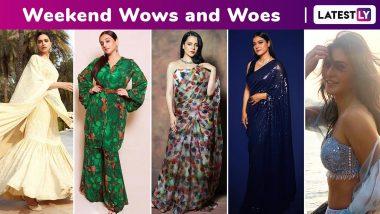 Weekend Wows and Woes: Deepika Padukone, Katrina Kaif, Kangana Ranaut, Kajol Devgan Stun in Ethnic Ensembles, Vidya Balan Bores!