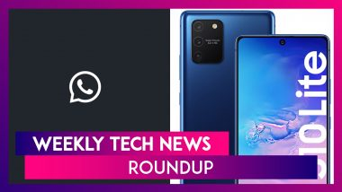 Weekly Tech Roundup: WhatsApp Dark Mode, Google Pixel 4a, Galaxy Note10 Lite, S10 Lite