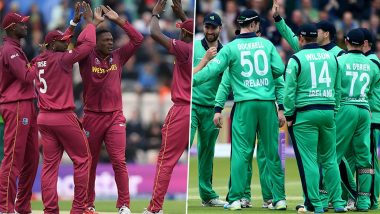 West Indies vs Ireland, 1st T20I 2020 Live Streaming Online: Get Free Telecast Details of WI vs IRE on TV With Match Time in India