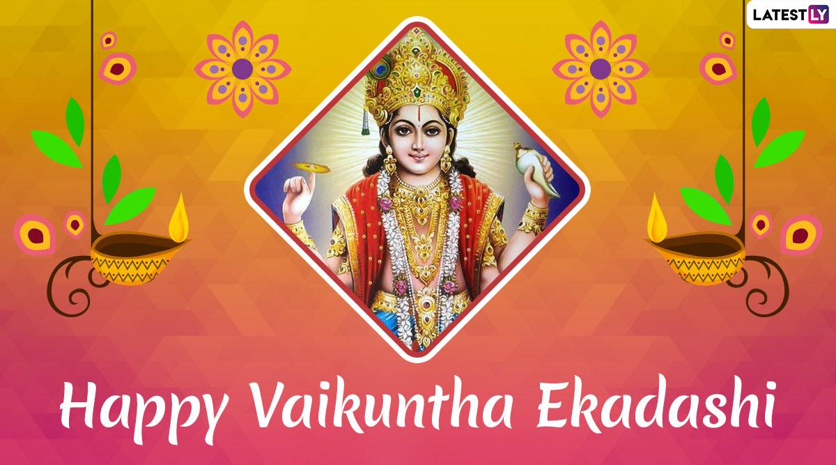 Vaikuntha Ekadashi 2020 Images & Wishes: Mukkoti Ekadashi Date, Significance and Vrat Katha Related to Lord Vishnu Festival