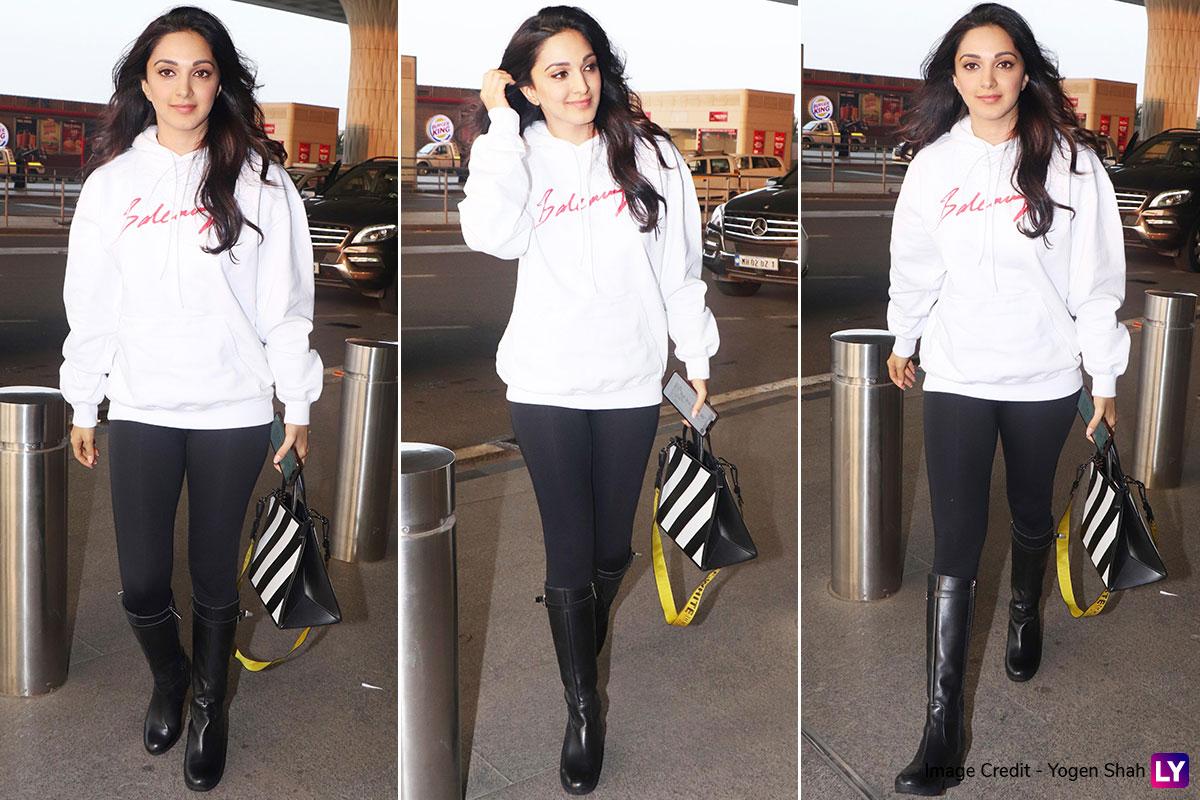 Winter Fashion- Kiara Advani