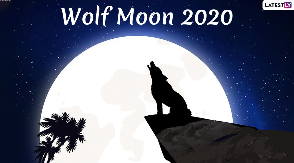 Wolf Moon 2020 Date and Timings: Know Everything About January's Full Moon That Coincides With Penumbral Lunar Eclipse