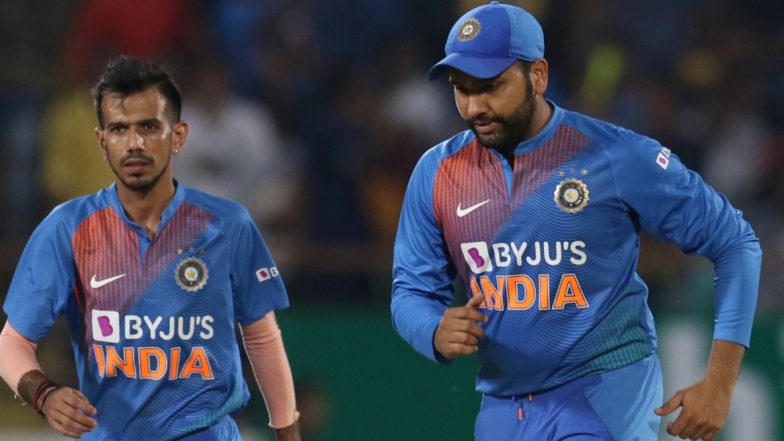 Rohit Sharma Shares Image of Yuzvendra Chahal in Body Tattoo, Draws Parallel With Dwayne 'The Rock' Johnson, Sets Twitter Rolling