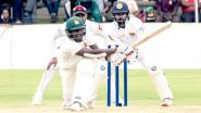 Zimbabwe vs Sri Lanka 1st Test Match 2020 Day 4 Live Streaming Online: How to Watch Free Live Telecast of ZIM vs SL on TV & Cricket Score Updates in India