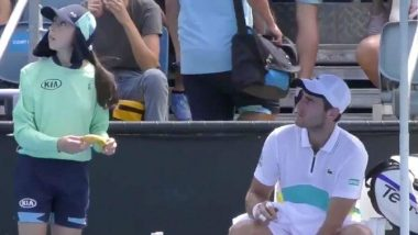 Elliot Benchetrit Defends Himself After Ball-Girl Banana Controversy, Says Had Put Cream on My Hands
