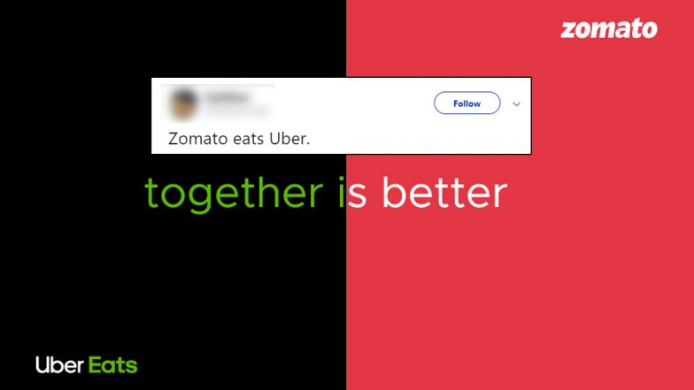 Zomato Eats Uber Eats! Twitterati Make Funny Memes and Jokes on Food Delivery App Acquisition