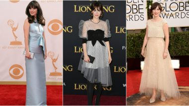 Zooey Deschanel Birthday: 5 Times the New Girl Star Impressed Us With Her Varied Fashion Choices from Playful to Subtle (See Pics)