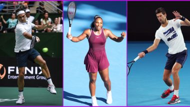 AO Rally for Relief 2020 Live Streaming Online: Watch Free Live Telecast of Australian Bushfires Charity Tennis Match in India