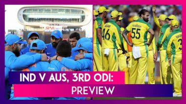 India vs Australia 2020, 3rd ODI at Bangalore Preview: Teams Get Set For Exciting Decider