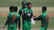 Rakibul Hasan Takes First Hat-Trick of ICC Under-19 Cricket World Cup 2020, Achieves The Feat During Bangladesh vs Scotland Match (Watch Video)