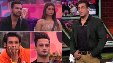Bigg Boss 13 Weekend Ka Vaar LIVE Updates: Rashami Desai's Tea Secret Gets Exposed and Salman Khan Explodes at Sidharth Shukla-Asim Riaz, Tune In!