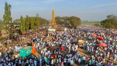 Bhima Koregaon 202nd Anniversary: Over Five Lakh Dalits Gather For Mega-Event, Internet Shut in Parts of Pune District