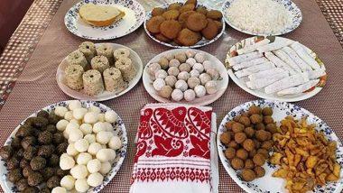 Magh Bihu 2020 Special Sweets: Laru, Pitha, Doi-Sira, Enjoy These Assamese Traditional Dessert Recipes on Bhogali Bihu