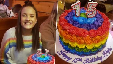 Kentucky School Girl Expelled for Wearing Pride Sweater and Cutting Rainbow Cake on Her Birthday (View Pics)