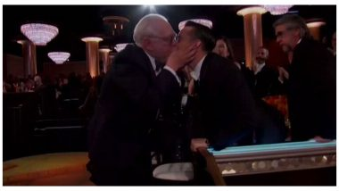 Golden Globes 2020: Brian Cox and Kieran Culkin Lock Lips As Former Wins Best Actor in a Television Series For Succession