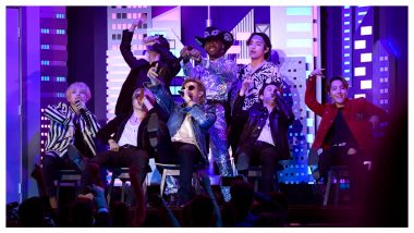 Lil Nas X and BTS Debut At Grammy Awards 2020 With a Spectacular Performance on 'Seoul' Town Road (Watch Video)