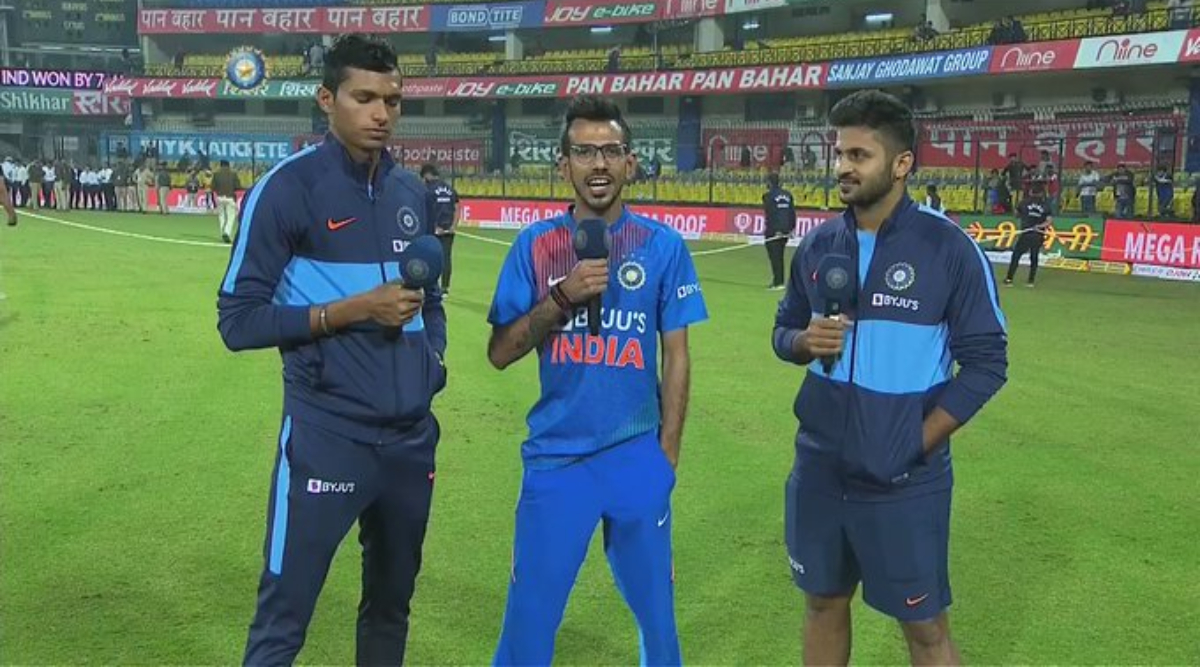 Yuzvendra Chahal Terms Navdeep Saini 'Yorker Queen' on Chahal TV's Latest Episode, Watch Video
