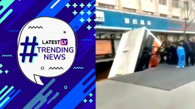 Satya Nadella Speaks Up Against CAA, Giant Sinkhole In China Swallows A Bus & Other Trending News